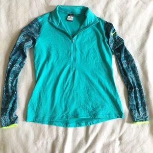 Nike drifit hyperwarm athletic half zip sweater